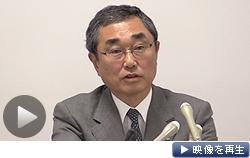 ANAホールディングスの伊東社長は大規模な機材購入を発表した(27日午後、東京都港区)