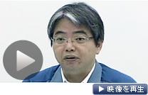 3号機の使用済み核燃料プールへのホウ酸水注入などについて記者会見する東電担当者(テレビ東京)