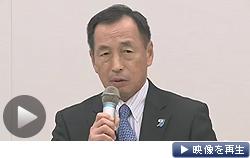田母神氏が都知事選出馬を表明(テレビ東京)