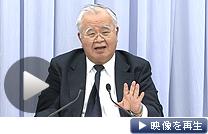 「菅首相は捨て石になって日本の復興に尽くしてほしい」と米倉経団連会長(6日)