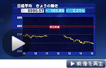 日経平均終値は年初来安値更新。6日の動きをグラフや表で解説(日経CNBC)