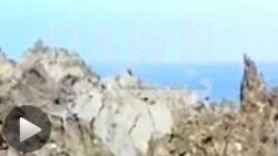 パキスタン地震直後に出現したとされる新たな「島」
