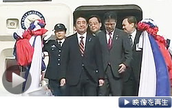 安倍首相、ラオスと安保対話(テレビ東京)