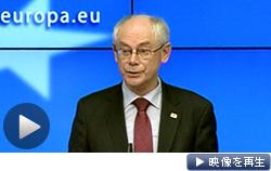 クリミア編入を巡り、EUもロシアに対する追加制裁を発表した(20日)