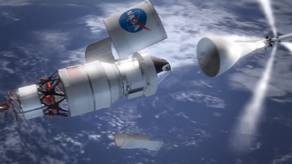 NASAが公開 火星有人飛行目指す次世代ロケット