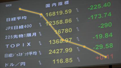 株価反転のカギは 円相場に注目
